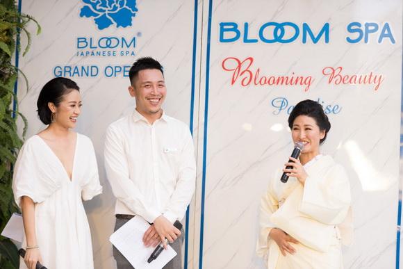 MC Phí Linh, Bữa tiệc sắc đẹp Nhật Bản, Bloom Spa