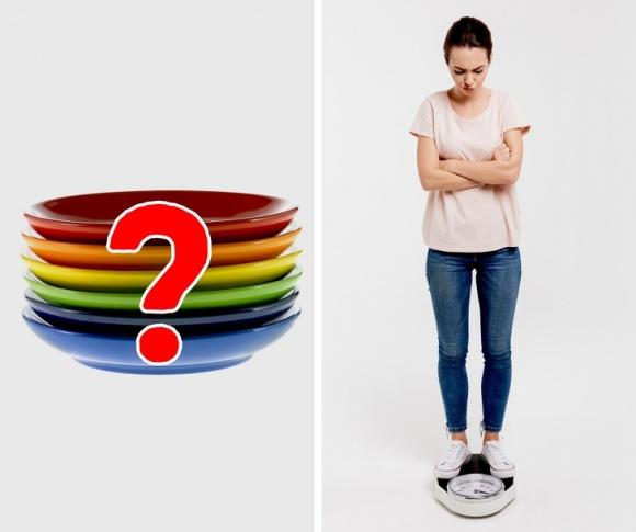 giảm cân không cần ăn kiêng, mẹo giảm cân, giảm cân bằng cách ăn ít