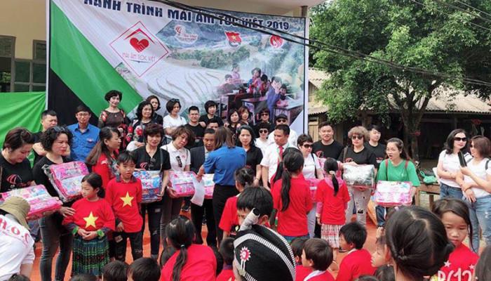 Hành trình mái ấm Tóc Việt – Tiếp sức đến trường tại Phìn Hồ, tỉnh Lai Châu