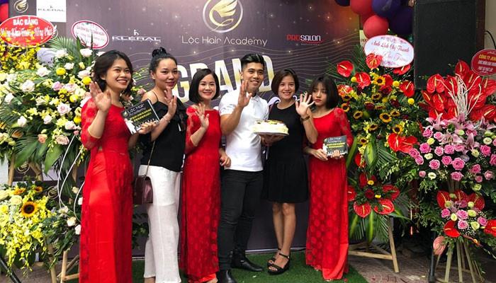 Tưng bừng khai trương Lộc Hair Academy cơ sở mới - 643 Hoàng Hoa Thám